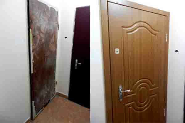 Реставрация дверей. Поздняки.