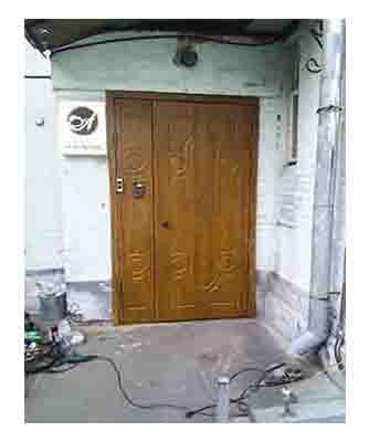 МДФ накладки на уличные двери.