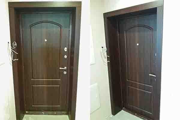 Мдф накладки на двери. Дверной откос из МДФ.