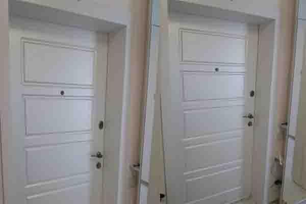 Откос из МДФ. Панели МДФ на двери.