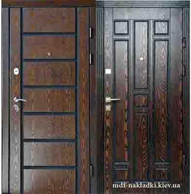 Полимерные панели на уличные двери